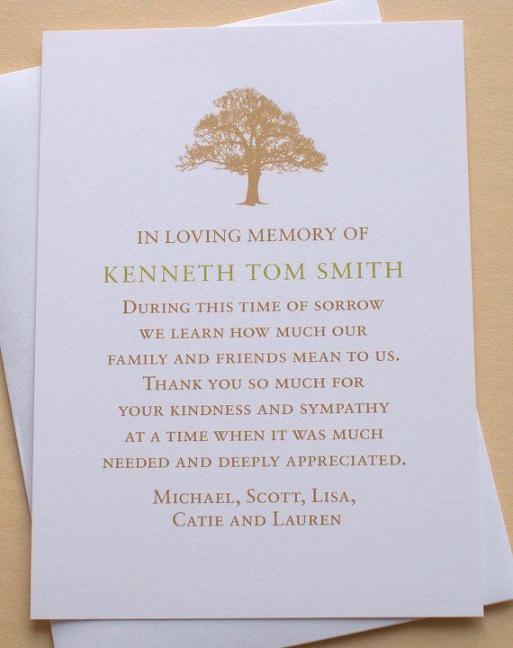 The  Best Sympathy Thank You Cards Ideas On