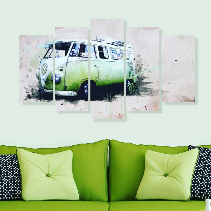 100x60 cm 5 parça dekoratif tablo 40,TL 🚚 Kargo alıcıya aittir 💟3 adet ve üstü kargo ücretsizdir 👍Kapıda ödeme KİŞİYE ÖZEL TABLO YAPIYORUZ 50₺ 📝Sipariş için Dm veya WhatsApp'tan 0542 398 07 51 #duvarsüsü #tablo #tasarim #hediye #hediyelik #sanat #volkswagen #ev #alışveriş #pano #yeşil