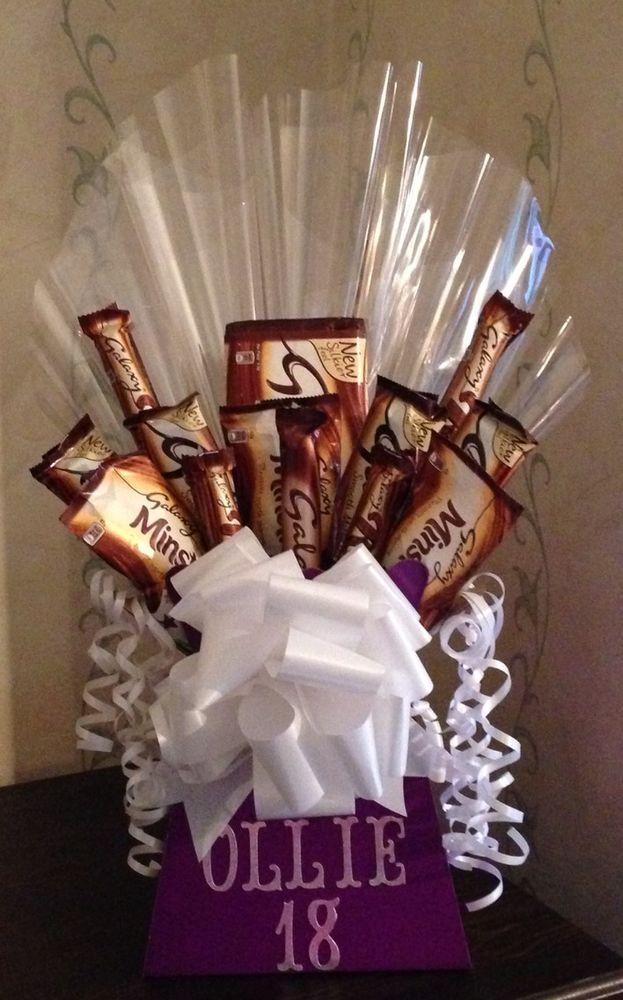 Chocolate Bouquet, Cadbury Galaxy Birthday,anniversary, Gift