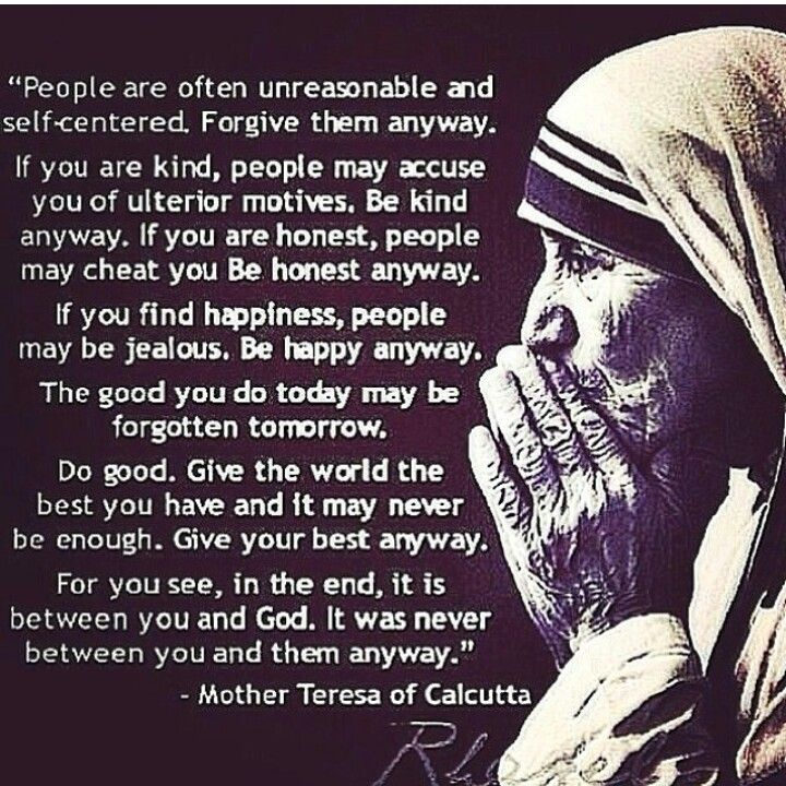 Best quote from Mother Teresa