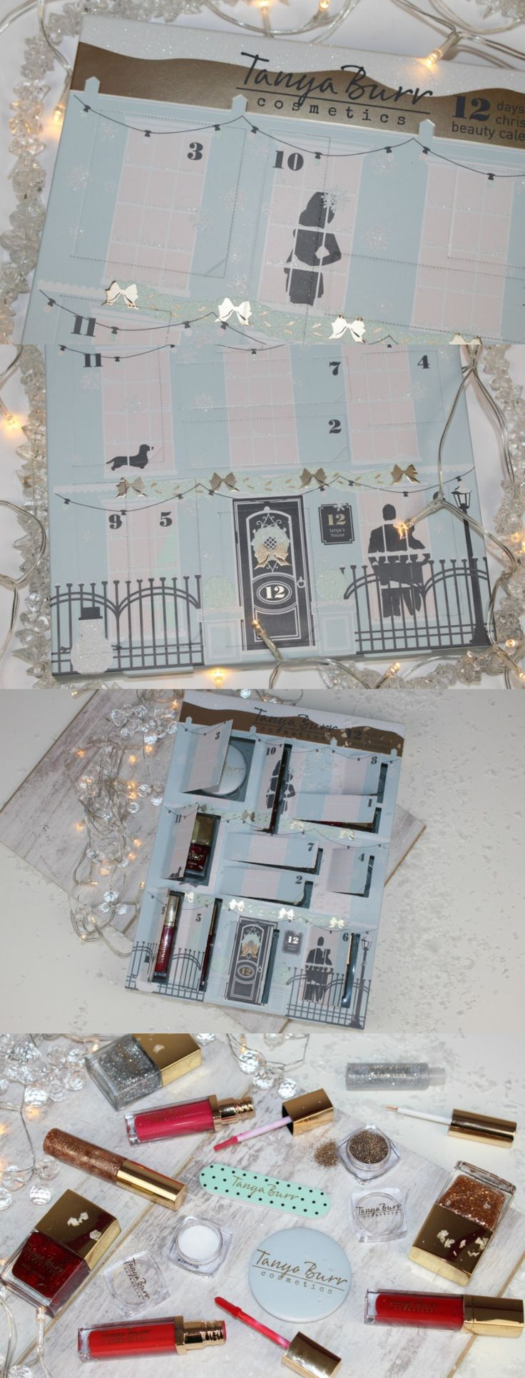 Tanya Burr Advent Calendar 2016 Review & Photos - http://pinkparadisebeauty.blogspot.co.uk/2016/11/tanya-burr-advent-calendar-review-photos.html