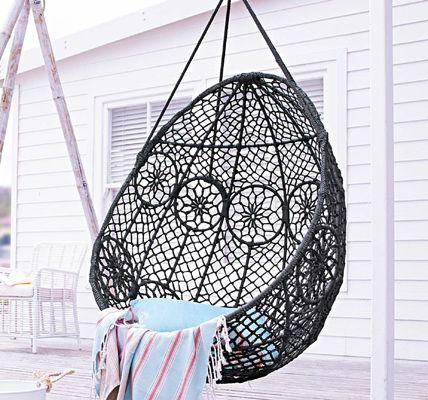 1000 ideen zu h ngesessel auf pinterest veranda st hle. Black Bedroom Furniture Sets. Home Design Ideas