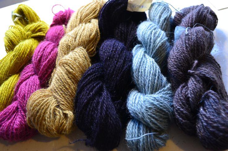 natural dye yarn