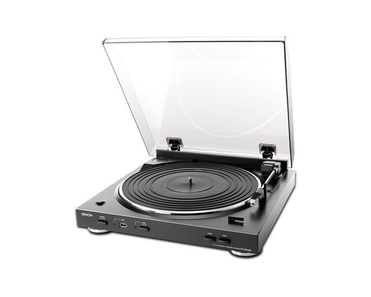 ON SALE Denon DP-200USB Record Player for Vinyl Hi-Fi Component Turntable