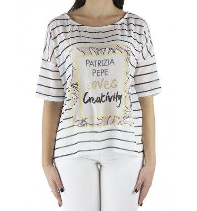 PATRIZIA PEPE CAMICIA 8J0390A1VTX1KV BIANCO#PATRIZIAPEPE#ABBIGLIAMENTO#ORIGINALE#PRIMAVERA2016#BLAKKYFASHION#SHIPPINGWORLDWIDE#SCONTI#PROMOZIONI#MAGLIE#PANTALONI#CAMICIA#TSHIRT#outfit #fashion #makeup #dress #skirt #clothes #clothing #fashionable #instafashion #model #style #girly #golook #classy #fashiondiaries #pants  #highheels #shoes #insta #accessories #tagstagramers #tagsta #highheels #heels #stilettos #boots #footwear #sandals #brogues #laces #golook #instashoes #shoesoftheday…