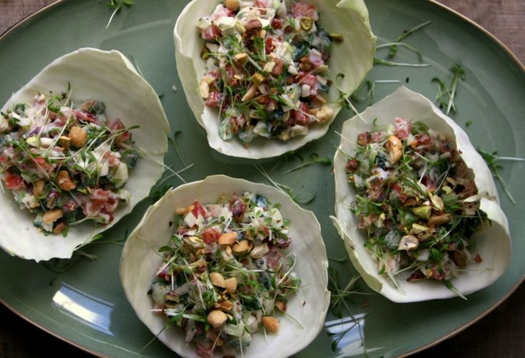 Karola's Kitchen - zomerse witte kool wraps