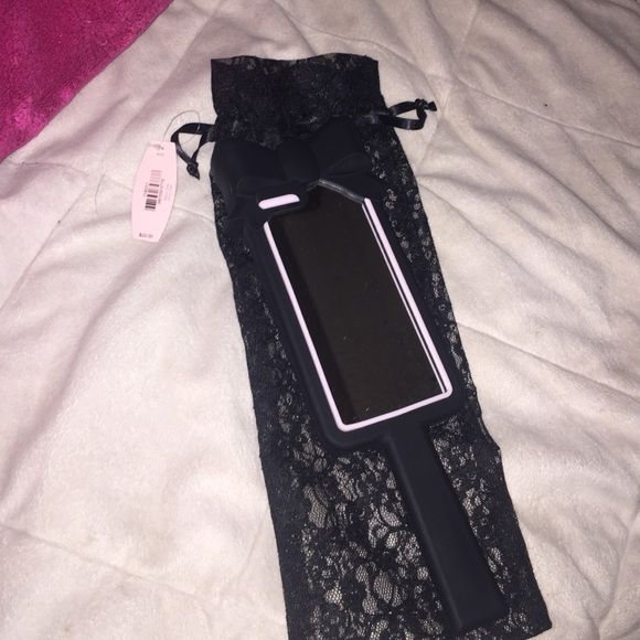 I phone six case I have never really used I bought it because it cute lol and he just sits around no trades please do not buy without letting me know because I do not go on this app every day PINK Victoria's Secret Accessories Phone Cases
