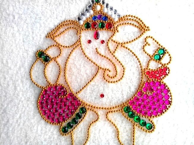 Latest Ganesh Rangoli Designs, Ideas and Pictures For 2017 ...