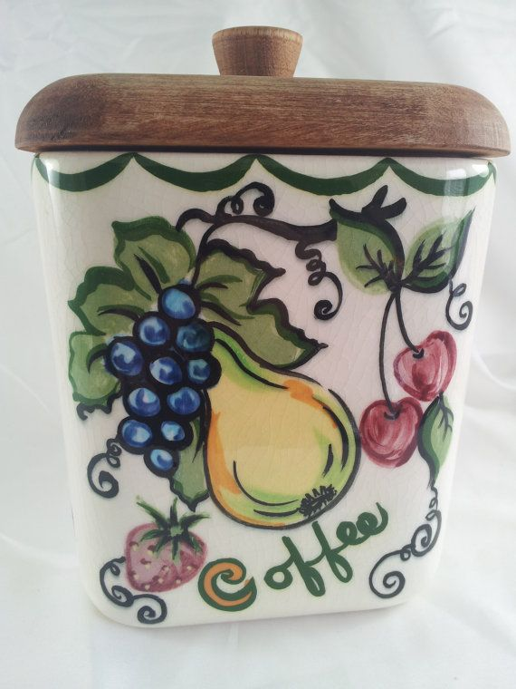 142 best Canisters Old New images on Pinterest