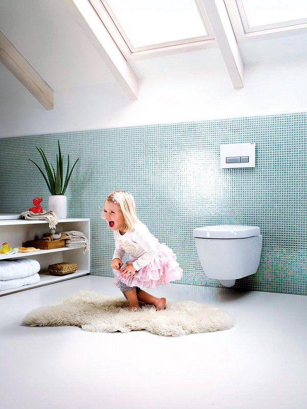 Mucho más que aseo: Un baño para los niños