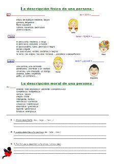 Les quichotteries de Delphine: Description Physique et Morale