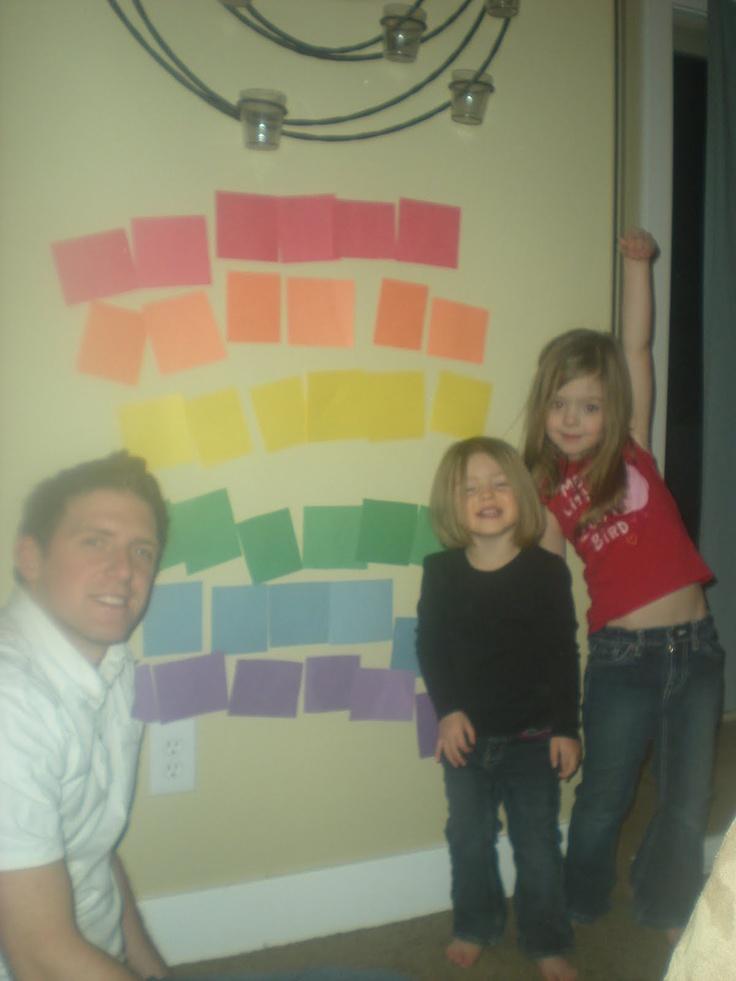 Rainbow Family Home Evening Faith Family Pinterest Rainbow