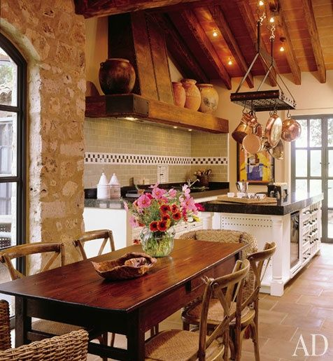Rustic Spanish Style Sea Island House: Best 25+ French Kitchens Ideas On Pinterest