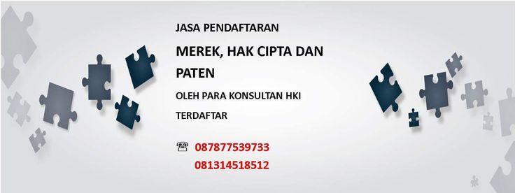 Kami akan membantu anda memberikan Jasa Pendaftaran Merek, Hak Cipta, Paten, Desain Industri, Rahasia Dagang, Desain Tata Letak Sirkuit Terpadu, Perlindungan Varietas Tanaman dan Indikasi Geografis Terbaik Di Indonesia 📱 087877539733 💌 optimasihki@gmail.com
