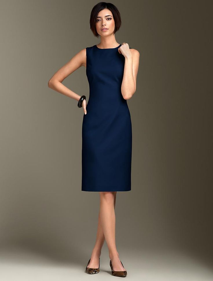 Best 20  Navy work dresses ideas on Pinterest | Blue work dresses ...
