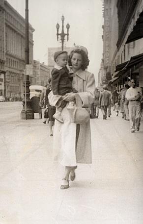 old sidewalk photos: Vintage Photo