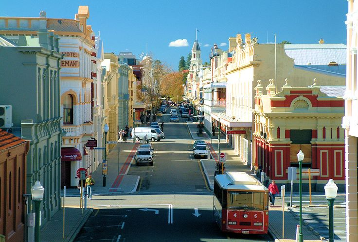 Streets of Fremantle