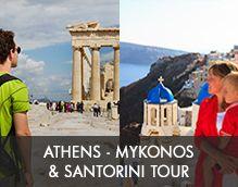 Athens - Mykonos - Santorini Tour