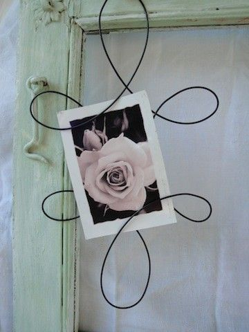 wire picture frame or ornament by on etsy 400