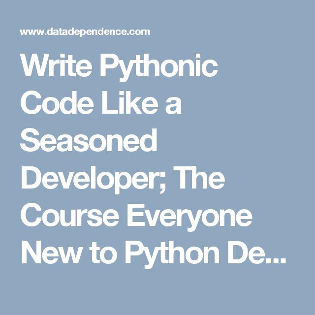 how to write python code