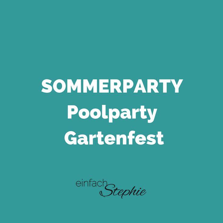 48 besten sommerparty poolparty gartenfest bilder auf pinterest sommerfest belegte brote. Black Bedroom Furniture Sets. Home Design Ideas