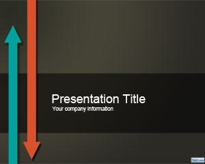 117 best powerpoint images on pinterest presentation layout free ppt template with arrow up and down in the background for offshore toneelgroepblik Image collections