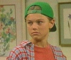 """Leonardo DiCaprio (Luke Brower) in """"Growing Pains"""" (TV Series, 1991-1992)"""