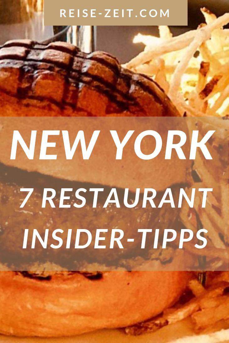 New York Gourmet Guide – 7 Restaurant Insider-Tipps