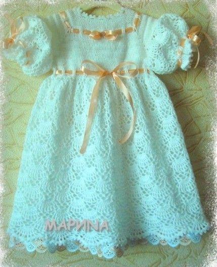 Princess Dress free tutorial and crochet graph pattern