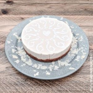Cheesecake met Conference peren - Puur Homemade by Cilla Tibbe - http://www.puurhomemade.nl/cheesecake-met-conference-peren/