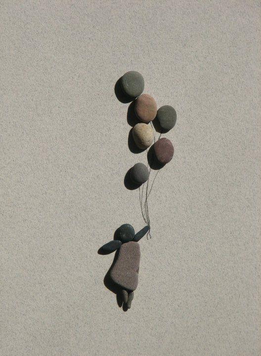 volando con piedras :)