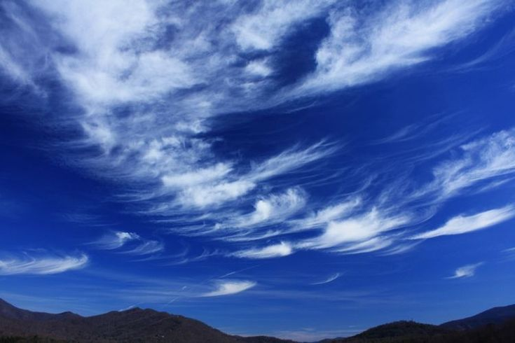 Cirrus clouds: Clouds, Donald Collins, Cirrus Cloud, Colleges, Ice Crystals, Cloud Features, Natural Phenomena, Don Physics, Physics Photos
