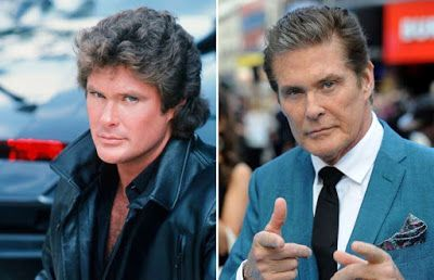 Food  For Thought: David Hasselhoff, Τότε & Τώρα