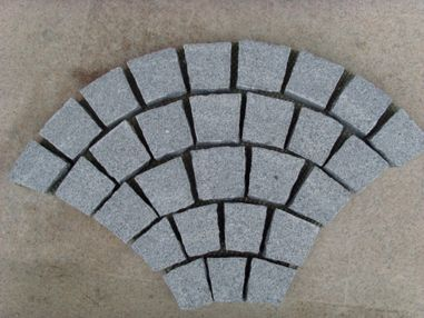 Mesh backed pavers cobblestones cube flagstone tiles mosaic ...