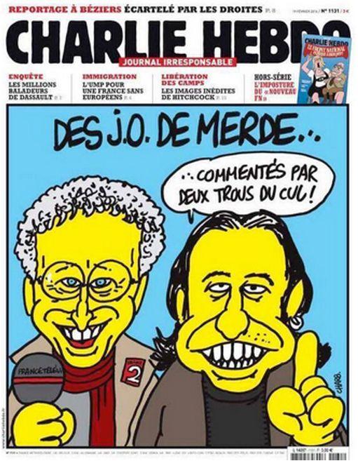 Une Charlie Hebdo - JO Sotchi - février 2014