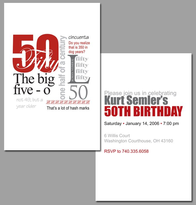 1000 Images About Funny Birthday Party Invitations On: 1000+ Images About 50th Bday On Pinterest