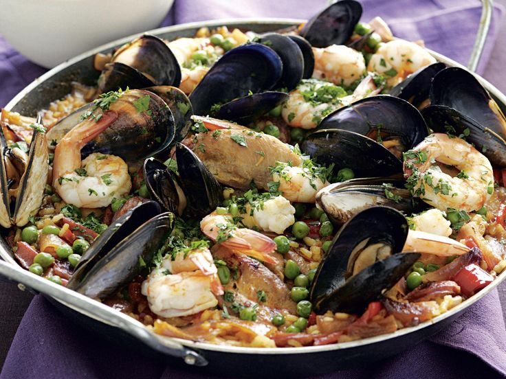 Bring the flavour and style of Spain into your home with this fabulous and authentic seafood paella.