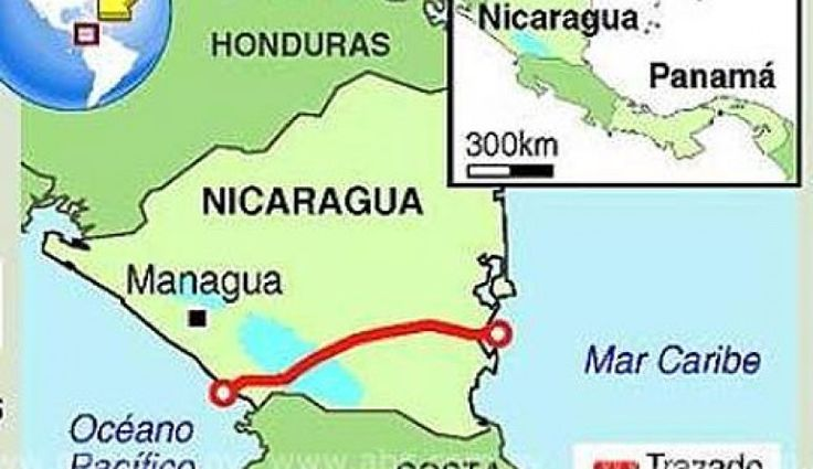 Main work on Nicaragua Canal due to start by year-end