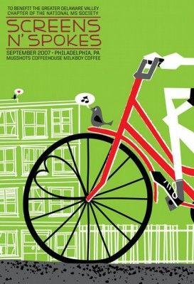 Cute bike poster from bikingbis.com