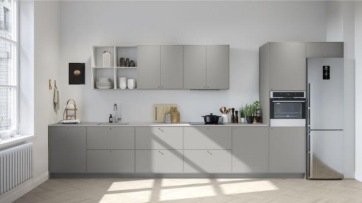 Kjøkkenfront - Bistro varmgrå | Drømmekjøkkenet