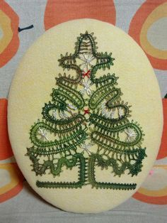 Image result for bobbin lace Natal / Christmas