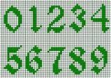 21 best Cross stitch - numbers