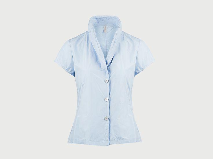 Kleine Bluse Eisblau