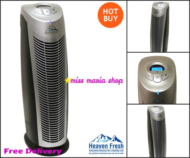 Electronic Air Purifier Eliminates Air Impurities Dust Baby Children Allergies