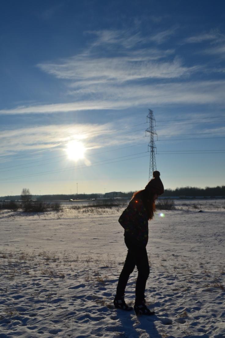 walk with the sun