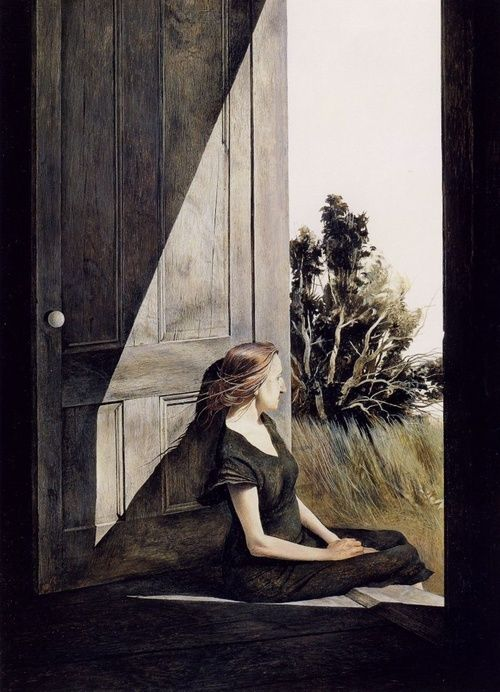 colourthysoul:  Andrew Wyeth - Christina Olson (1947)