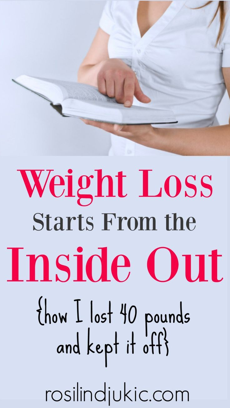 Weight Loss Starts From the Inside Out ⋆ A Little R & R