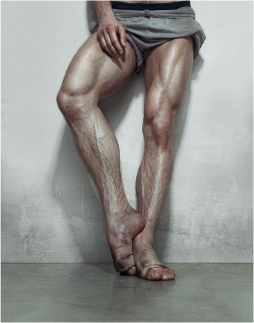 kiss a ballerina s leg