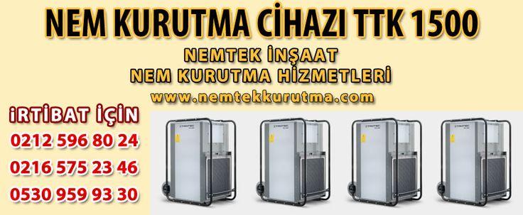 Nem Kurutma Cihazı TTK 1500   NEMTEK NEM ALMA 0530 959 9330 http://www.nemtekkurutma.com/pagedetails/58/nem-kurutma-cihazi-ttk-1500/