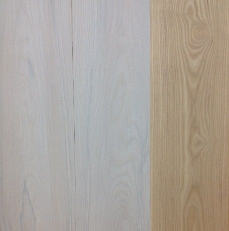 American White Ash White Stain Before Amp After Wood